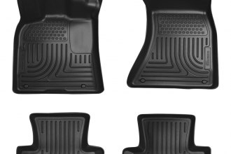 Husky Liners® 96411 - WeatherBeater™ Floor Liners (1st and 2nd Rows, Black)