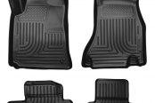 Husky Liners® - WeatherBeater™ Floor Liners - 1st and 2nd Rows, Black