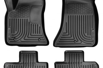Husky Liners® 98071 - WeatherBeater™ Floor Liners (1st and 2nd Rows, Black)
