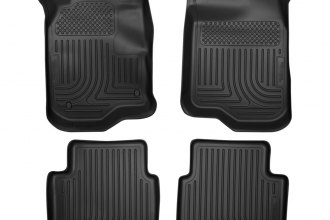 Husky Liners® 98111 - WeatherBeater™ Floor Liners (1st and 2nd Rows, Black)