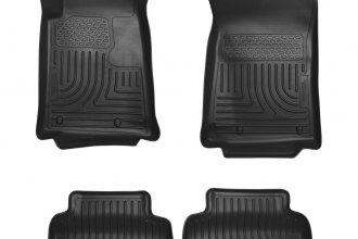 Husky Liners® 98121 - WeatherBeater™ Floor Liners (1st and 2nd Rows, Black)