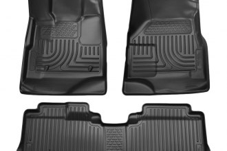 Husky Liners® 98141 - WeatherBeater™ Floor Liners (1st and 2nd Rows, Black)