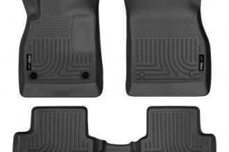Husky Liners® 98191 - WeatherBeater™ Floor Liners (1st and 2nd Rows, Black)