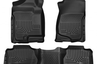 Husky Liners® 98262 - WeatherBeater™ Floor Liners (1st and 2nd Rows, Gray)