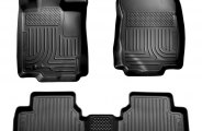Husky Liners® 98361 - WeatherBeater™ Floor Liners (1st and 2nd Rows, Black)