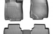 Husky Liners® 98362 - WeatherBeater™ Floor Liners (1st and 2nd Rows, Gray)