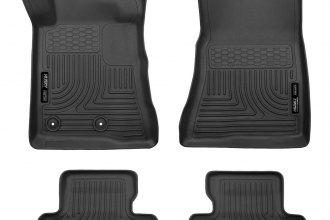 Husky Liners® 98371 - WeatherBeater™ Floor Liners (1st and 2nd Rows, Black)