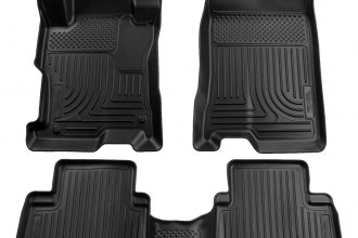Husky Liners® 98441 - WeatherBeater™ Floor Liners (1st and 2nd Rows, Black)