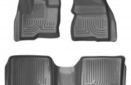 Husky Liners® 98742 - WeatherBeater™ Floor Liners (1st and 2nd Rows, Gray)