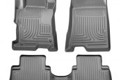 Husky Liners® - WeatherBeater™ 1st & 2nd Row Gray Floor Liners