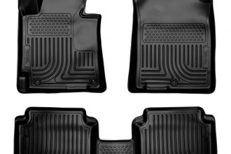Husky Liners® 98891 - WeatherBeater™ Floor Liners (1st and 2nd Rows, Black)