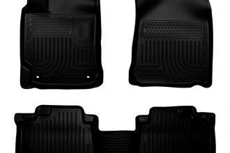 Husky Liners® 98901 - WeatherBeater™ Floor Liners (1st and 2nd Rows, Black)