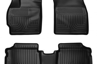Husky Liners® 98921 - WeatherBeater™ Floor Liners (1st and 2nd Rows, Black)