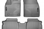 Husky Liners® 98932 - WeatherBeater™ Floor Liners (1st and 2nd Rows, Gray)