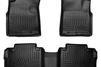 Husky Liners® 98951 - WeatherBeater™ Floor Liners (1st and 2nd Rows, Black)