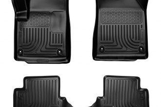 Husky Liners® 99021 - WeatherBeater™ Floor Liners (1st and 2nd Rows, Black)