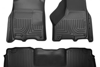 Husky Liners® 99041 - WeatherBeater™ Floor Liners (1st and 2nd Rows, Black)
