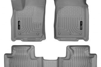 Husky Liners® 99052 - WeatherBeater™ Floor Liners (1st and 2nd Rows, Gray)