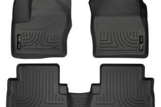 Husky Liners® 99741 - WeatherBeater™ Floor Liners (1st and 2nd Rows, Black)