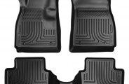 Husky Liners® 99791 - WeatherBeater™ Floor Liners (1st and 2nd Rows, Black)