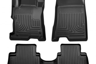 Husky Liners® 99871 - WeatherBeater™ Floor Liners (1st and 2nd Rows, Black)
