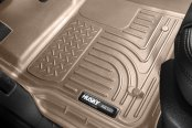 Husky Liners® - WeatherBeater™ 1st Row Floor Liner - Tan