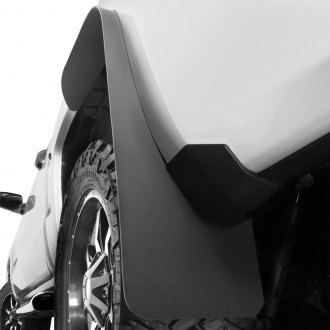 Husky Liners® - Long John™ Black Flat Mud Flaps