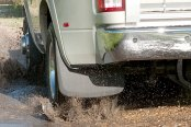 Image may not reflect your exact vehicle! Husky Liners® - Custom Molded Mud Guards