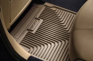Husky Liners® Second Seat Heavy Duty Floor Liners