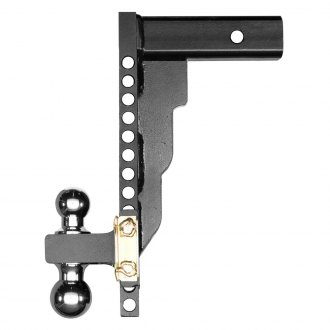 "Husky Liners® - Class 3 / 4 Adjustable 14"" Drop Ball Mount for 2-1/2"" Receivers"