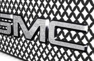 IcedOutEmz® - 3D Chrome GMC Emblem with Crystals