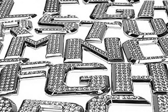 IcedOutEmz® - 3D Chrome Letters, Numbers and Emblems