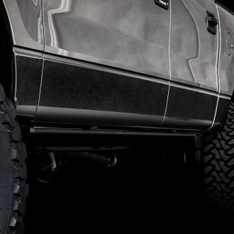 ICI® - Rocker Armor™ Matte Black Rocker Panel Covers