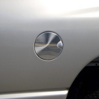 "ICI® - 8"" x 8"" U-Cut Chrome Gas Cap Cover"