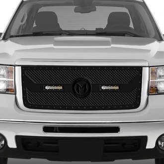 ICI® - 1-Pc Magnum BL Series LED Light Black Mesh Grille