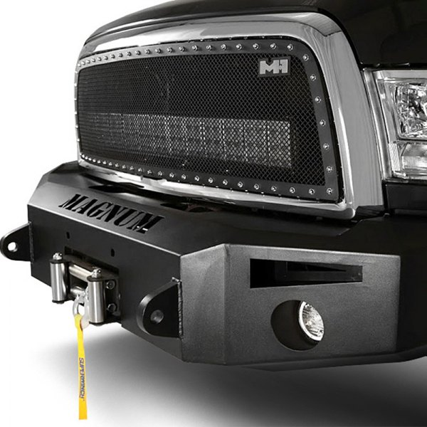 Image may not reflect your exact vehicle! ICI® - Magnum™ Full Width Front HD Winch Bumper