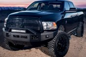 Image may not reflect your exact vehicle! ICI® - Magnum™ Front Bumper with RT-Series Light Bar