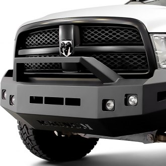 Image may not reflect your exact vehicle! ICI® - Magnum™ Front Winch Bumper with RT-Series Light Bar