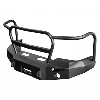 ICI® - Magnum™ Stubby Front Winch Bumper with Tube Grille Guard