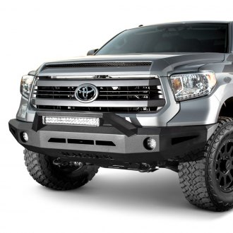 ICI® - Magnum™ Full Width Black Front HD Bumper with RT-Series Light Bar