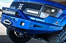 ICI® - Front Bumper with Light Bar on Ford Raptor