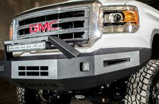 ICI® - Front Bumper with Light Bar on GMC Sierra