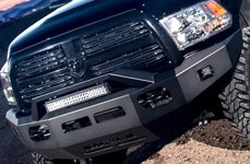 ICI® - Front Winch Bumper with RT-Series Light Bar
