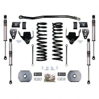 "ICON® - 4.5"" x 0"" Front and Rear Suspension Lift Kit"