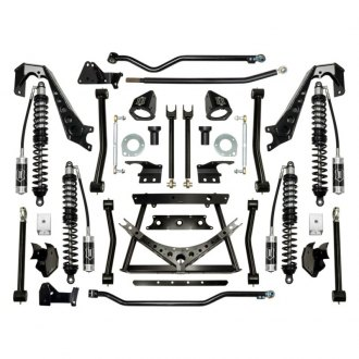 "ICON® - 4.5""-6"" x 3""-5"" Coilover Conversion Front and Rear Suspension Lift Kit"