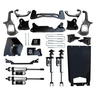 "ICON® - 2"" x 2"" Stage 1 Front and Rear Suspension Lift Kit"