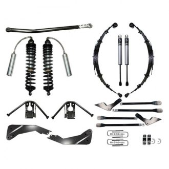 "ICON® - 7""-9"" x 7""-9"" Coilover Conversion Front and Rear Suspension Lift Kit"
