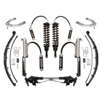 "ICON® - 1""-3"" x 1""-3"" Performance Stage 4 Front and Rear Suspension Lift Kit"