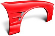 2009 Ford Mustang Custom Fenders