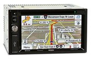 In-Dash with GPS Navigation
